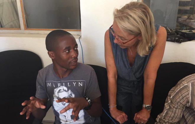 Journalistutbildning i Rwanda