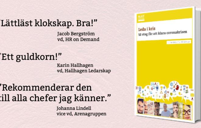 Alla kriser är unika, men det finns ledstjärnor att hålla sig i. Ylva M Andersson har skrivit boken Leda i kris